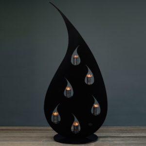 Yvette Laduk Flame_it_kandelaar_big donker